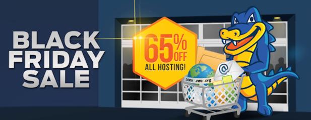 HostGator鳄鱼主机黑五庆祝活动,主机产品全场3.5折优惠,顶级域名5.99美元