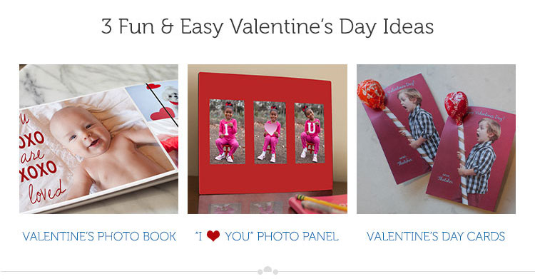 3 Fun & Easy Valentine's Day Ideas